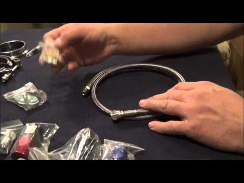 How to Set up a JSRP Oil Feed and Drain Kit
