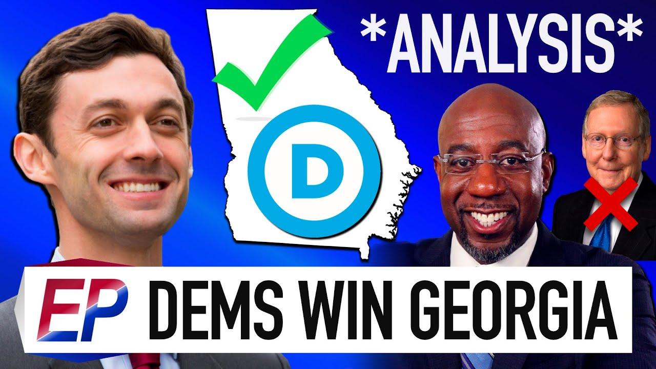 This is How Democrats Won the Georgia Senate Races