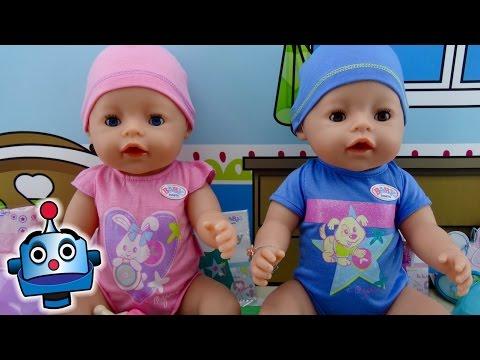NUEVOS Baby Born Interactivos niño y niña - Juguetes de Baby Born
