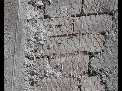 America Plastering With Chicken Wire Mesh Youtube