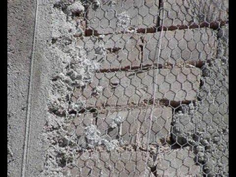 основание под штукатурку из металлической сетки