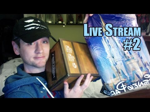 Chad Alan Live Stream #2 - Disney World Haul, Minecraft Subscription Box, Hanging Out!