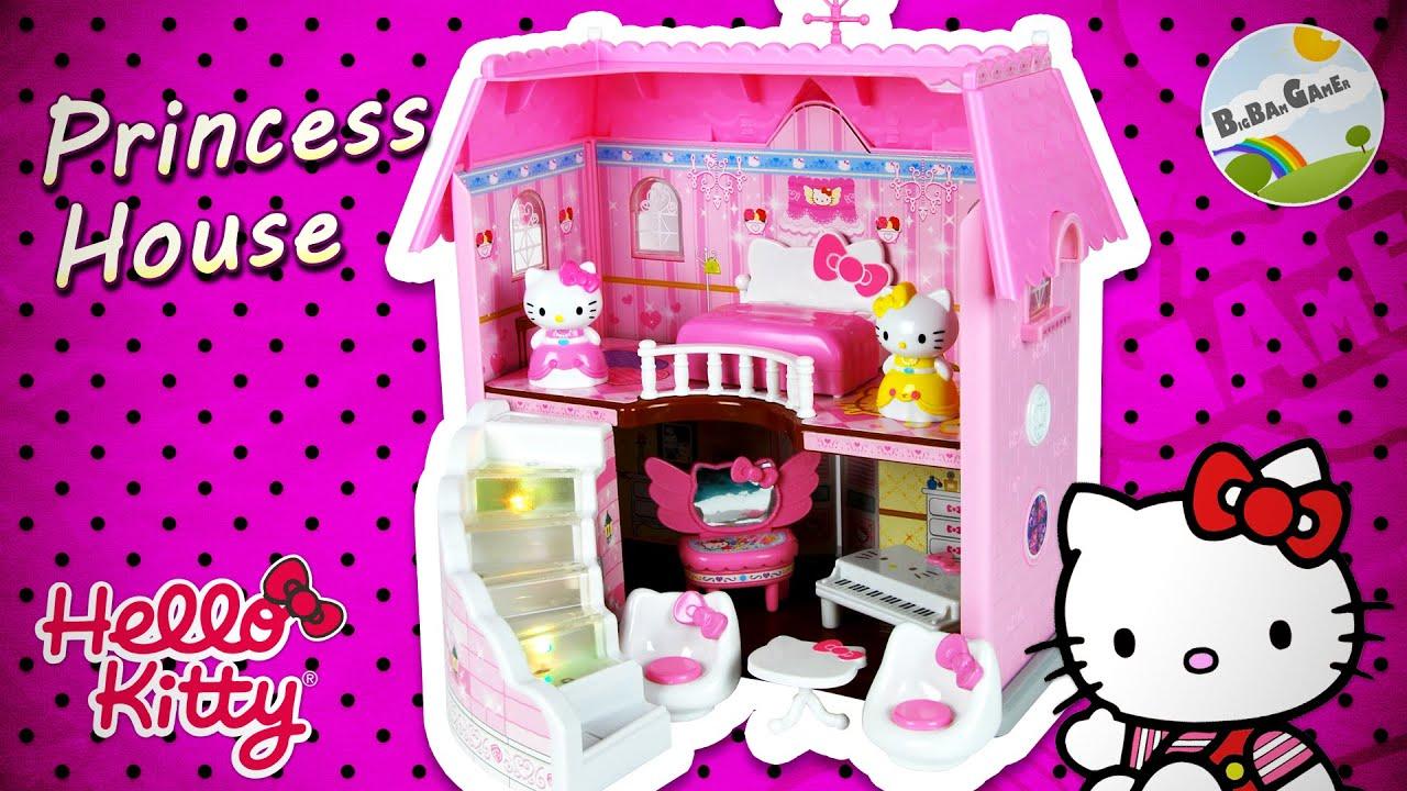 Hello kitty princess house youtube - Princesse hello kitty ...