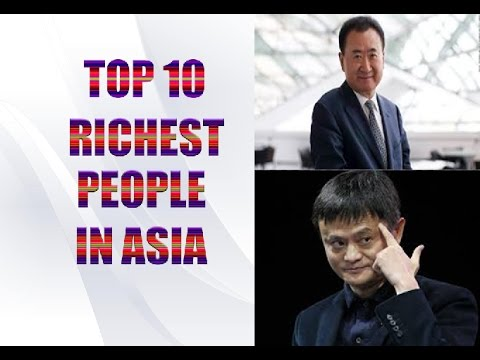 Top 10 Richest People in Asia | Latest 2016