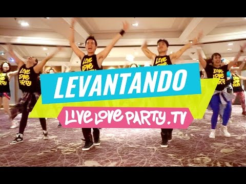 Levantando Las Manos By El Simbolo   Zumba®   Live Love Party