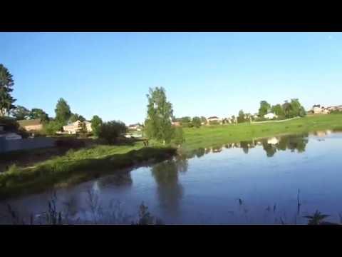 Волоколамская городская плотина на реке Городне, в которой в августе 2017 сдохла вся рыба