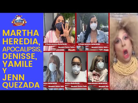 La Pitonisa Entrevista A Martha Heredia, Apocalipsis, Denisse, Yamile Y Jenn Quezada