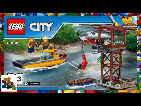 Lego Instructions City Jungle 60162 Jungle Air Drop