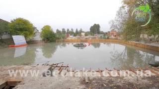 Очистка озера мини земснаряд EcoLake(Работы по очистке водоемов от иловых отложений; • Работы, направленные на углубление и очистку озер и..., 2015-10-19T12:01:33.000Z)