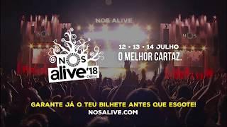 NOS Alive Festival 2018, Lisbon, Portugal