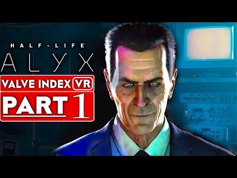 HALF LIFE ALYX Gameplay Walkthrough Part 1 [1080p 60FPS VR Valve Index] - No Commentary
