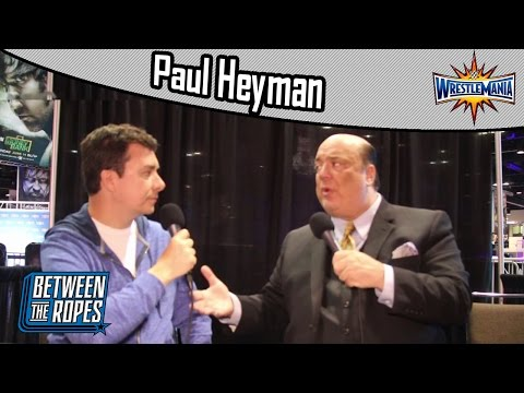 Paul Heyman talks WrestleMania 33, Goldberg legacy, and Brock Lesnar's WWE future