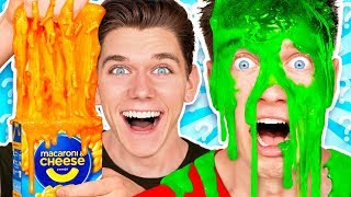 Mystery Wheel of Slime Challenge 2 w/ Funny Satisfying DIY How To Switch Up Game thumbnail