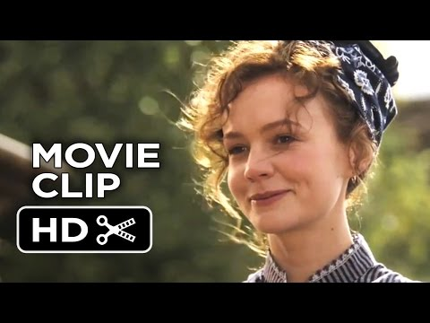 Far from the Madding Crowd Movie CLIP - Cleaning Sheep (2015) - Carey Mulligan Drama HD