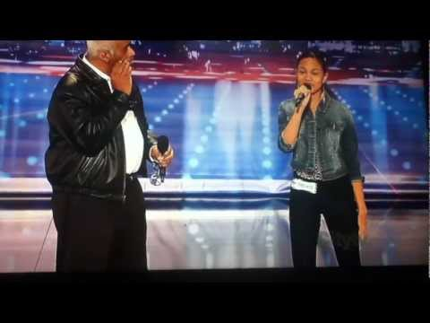 maurice and shanice hayes americas got talent audition
