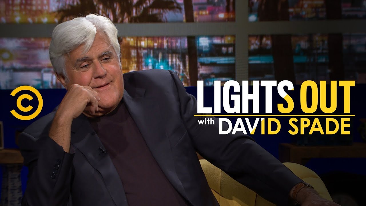 Jay Leno Gives David Spade Talk Show Hosting Advice - Lights Out with David Spade