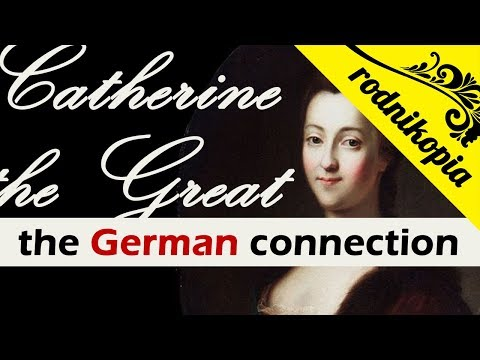 When Catherine the Great was a German princess who didn't know a word in Russian (1729-1745)