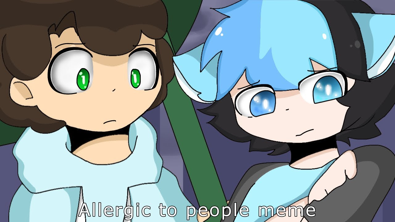 Download Allergic to people meme