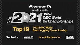 2021 DMC World Beat Juggling Championship (Entire Battle!) hosted by DJ Babu