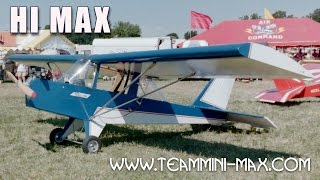 Hi Max, All Wood High Wing Ultralight Aircraft From Team Mini-max.