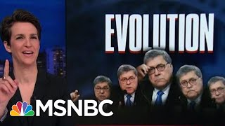 William Barr Scrambles To Rewind 'spying' Conspiracy Theory Embrace | Rachel Maddow | Msnbc