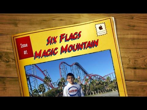 Koaster Kids at Six Flags Magic Mountain