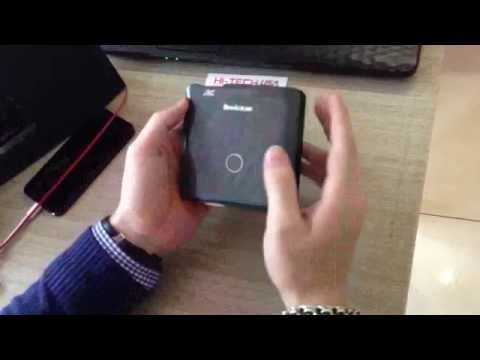 Hitech usa: Máy chiếu Mini Brookstone DLP Pocket Projector (máy chiếu di động đa năng)