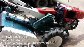 Vietnam Made Co.,ltd - 2 wheels walking tractor BL75 + RT80+