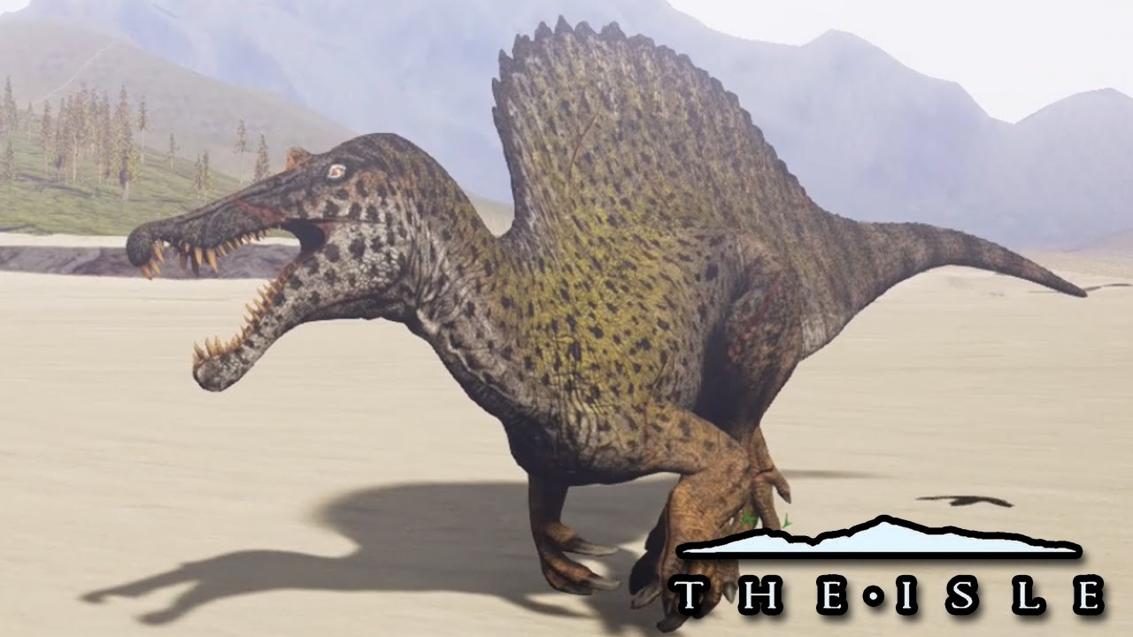 Becoming The Spinosaurus! - A Complete Progression Saga - The Isle