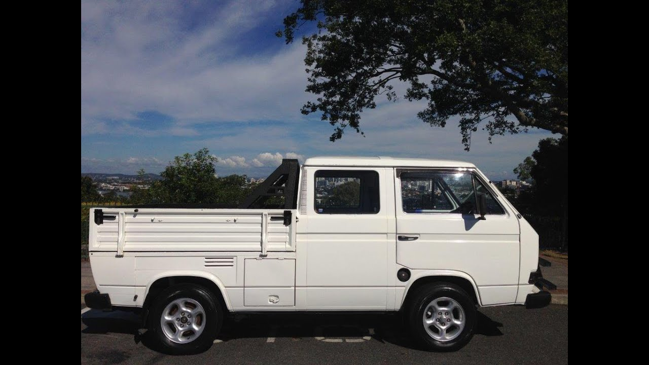 1985 Vw T3 Transporter Dual Cab Ulitity Ford Capri 3 0 V6