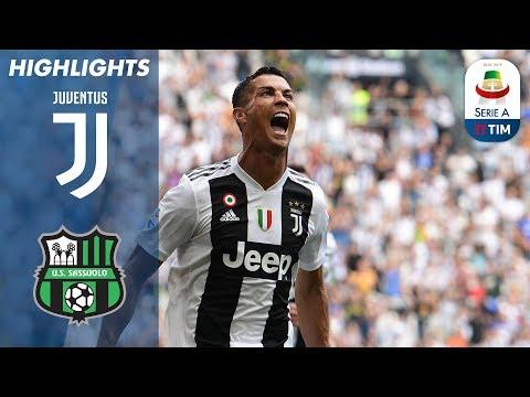 Juventus 2-1 Sassuolo | Il Primo Gol Bianconero Di Ronaldo | Serie A