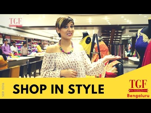 Shopping in Bangalore |  Best places to shop | fashion and ethnic wear | Designer Clothes