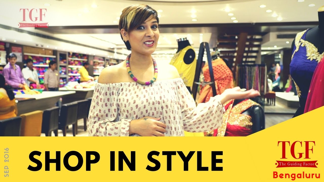 Shopping In Bangalore Best Places To Shop Fashion And Ethnic Wear Designer Clothes Youtube