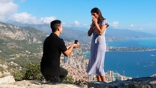 The Most Romantic Proposal EVER | Sam and Monica