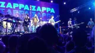 Zappa Plays Zappa Byron Bluesfest 2012. Debra Kadabra