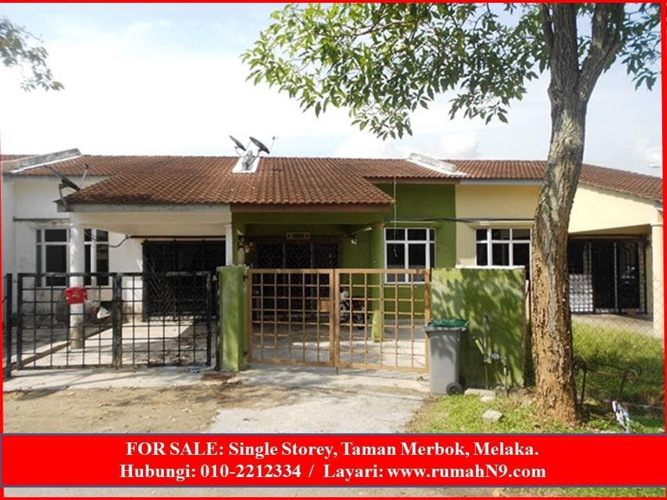 For Sale Rumah Untuk Dijual Di Melaka Youtube
