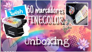 Unboxing marcadores FINECOLOR / Compra en Wish