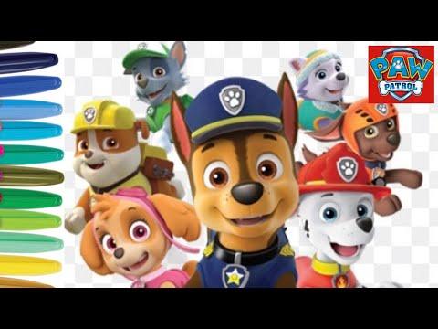 Download Coloring Paw Patrol Video Zw Ytb Lv