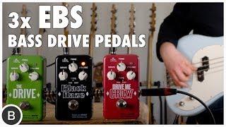 EBS BASS PEDALS - Overdrive & Distortion