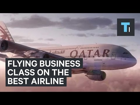 Flying business class on the best airline