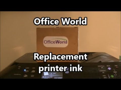 Office world replacement ink review cannon pixma mx922