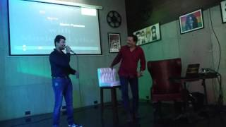 Mere naina Sawan bhadon karaoke cover..