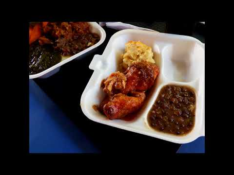 Low Cost Grenadian Food in Grand Anse: Grill Master and the Wall Street Food Vendors.