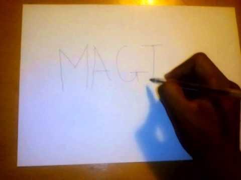 Magic anti writing