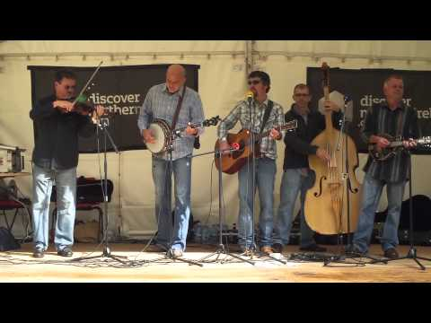 """Lonesome River Band play """"Let me Walk Lord by Your Side"""" at Omagh 2013"""