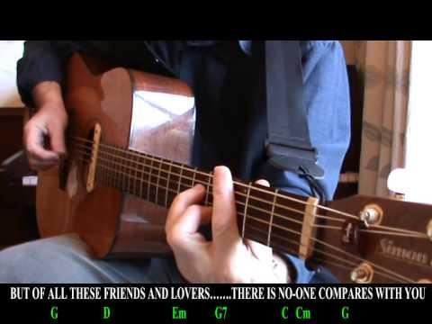 In My Life Beatles Easy Chords Lyrics Youtube
