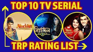 Top 10 Serial TRP Rating List: Naagin 3, YRKKH, Dance Deewane, Aladdin, Kumkum Bhagya