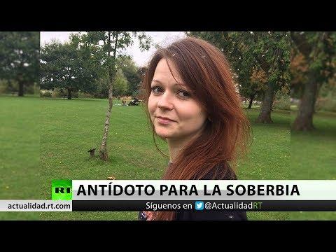 La hija del agente doble Serguéi Skripal rompe su silencio tras ser envenenada
