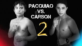 """Jimuel PACQUIAO vs Lucas CARSON [Official Rematch] 