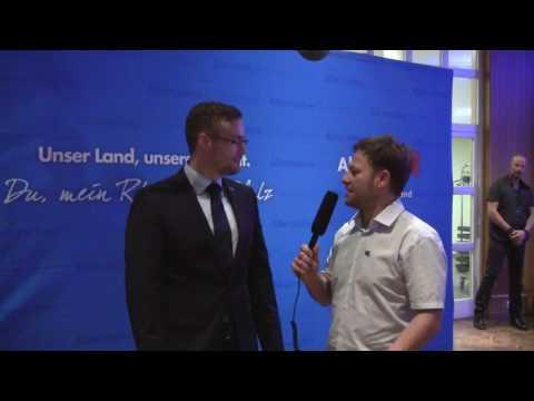 Gerolstein Wahlkampfstart mit Sebastian Münzenmaier